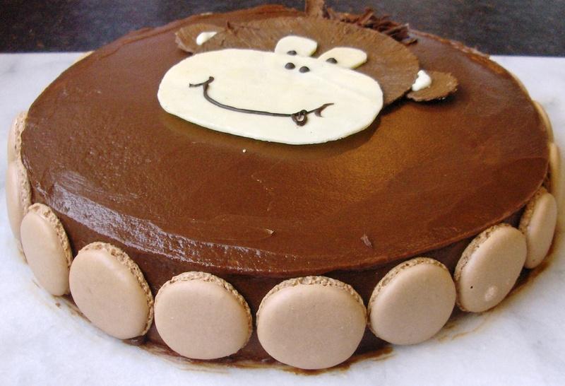 Cake Images Satish : Chocolate Sponge with Vanilla Cream filling and Milk ...