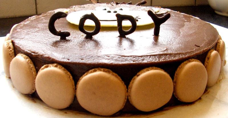 Birthday Cake with name - Avec Plaisir